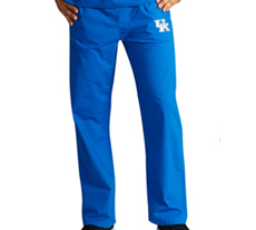 University of Kentucky Unisex College Scrub Pants 5310